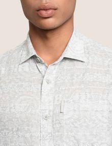 ARMANI EXCHANGE PAISLEY PRINT SHIRT Long sleeve shirt Man b