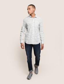 ARMANI EXCHANGE PAISLEY PRINT SHIRT Long sleeve shirt Man d