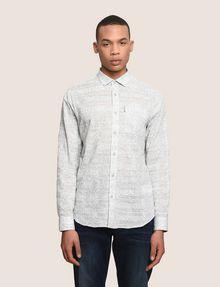 ARMANI EXCHANGE PAISLEY PRINT SHIRT Long sleeve shirt Man f