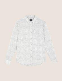 ARMANI EXCHANGE PAISLEY PRINT SHIRT Long sleeve shirt Man r