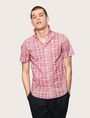 ARMANI EXCHANGE SHORT-SLEEVE CROSSHATCH SHIRT Short sleeve shirt Man a