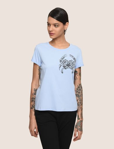 SUNBLEACHED CRAB TEE