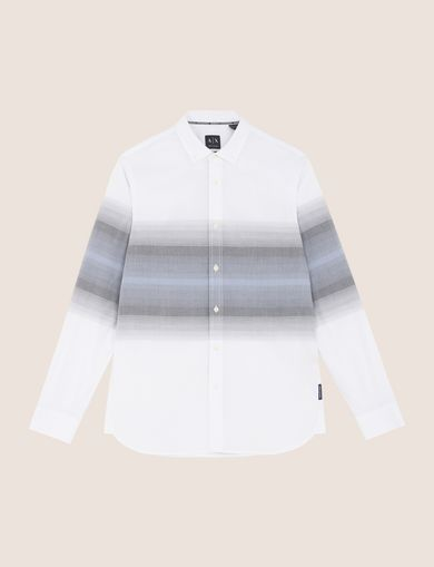 REGULAR-FIT OMBRE STRIPE SHIRT