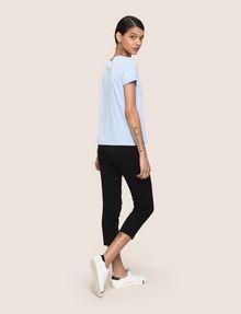 ARMANI EXCHANGE CALLIGRAPHY INSPIRE LOGO TEE Logo T-shirt Woman e