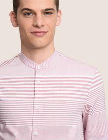 ARMANI EXCHANGE VARIEGATED STRIPE REGULAR-FIT SHIRT Long sleeve shirt Man b