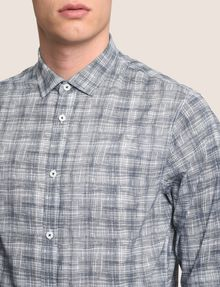 ARMANI EXCHANGE CROSSHATCH REGULAR-FIT SHIRT Long sleeve shirt Man b