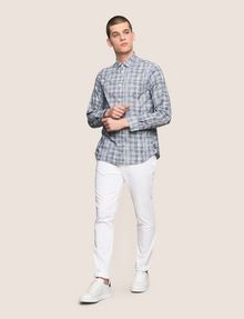 ARMANI EXCHANGE CROSSHATCH REGULAR-FIT SHIRT Long sleeve shirt Man d