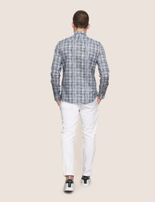 ARMANI EXCHANGE CROSSHATCH REGULAR-FIT SHIRT Long sleeve shirt Man e