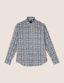 ARMANI EXCHANGE CROSSHATCH REGULAR-FIT SHIRT Long sleeve shirt Man r