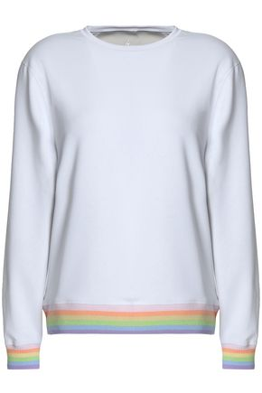 PURITY ACTIVE Striped terry sweatshirt