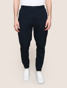 ARMANI EXCHANGE ELASTIC WAIST COTTON JOGGER Fleece Pant Man f
