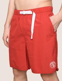 ARMANI EXCHANGE TAB WAIST SEERSUCKER SHORTS Shorts Man b