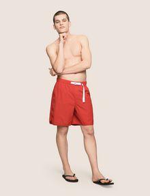 ARMANI EXCHANGE TAB WAIST SEERSUCKER SHORTS Shorts Man d