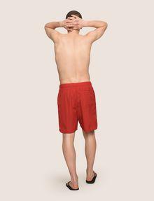 ARMANI EXCHANGE TAB WAIST SEERSUCKER SHORTS Shorts Man e