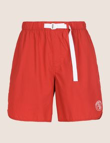 ARMANI EXCHANGE TAB WAIST SEERSUCKER SHORTS Shorts Man r