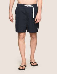 ARMANI EXCHANGE TAB WAIST SEERSUCKER SHORTS Short Man f