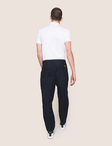 ARMANI EXCHANGE LINEN BLEND PLEAT-FRONT PANT Trouser Man e