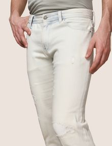 ARMANI EXCHANGE INDIGO BLEACHED SKINNY JEAN Skinny jeans Man b