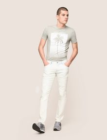 ARMANI EXCHANGE INDIGO BLEACHED SKINNY JEAN Skinny jeans Man d