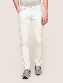 ARMANI EXCHANGE INDIGO BLEACHED SKINNY JEAN Skinny jeans Man f