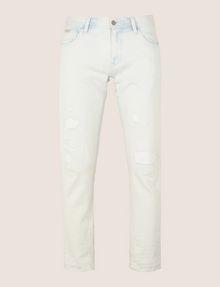 ARMANI EXCHANGE INDIGO BLEACHED SKINNY JEAN Skinny jeans Man r