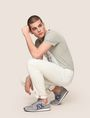 ARMANI EXCHANGE INDIGO BLEACHED SKINNY JEAN Skinny jeans Man a