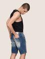 ARMANI EXCHANGE デニムショートパンツ ショートパンツ メンズ a