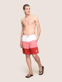 ARMANI EXCHANGE COLORBLOCK CIRCLE LOGO SWIM SHORT Swim Man d