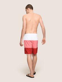 ARMANI EXCHANGE COLORBLOCK CIRCLE LOGO SWIM SHORT Swim Man e