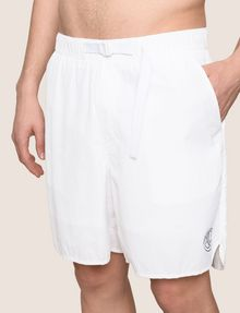 ARMANI EXCHANGE TAB WAIST SEERSUCKER SHORTS Shorts Man b