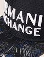 ARMANI EXCHANGE ボタニカル柄 パネルキャップ ハット メンズ d