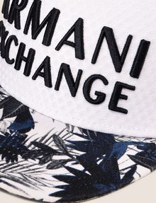ARMANI EXCHANGE TROPICAL FLORAL EMBROIDERED HAT Hat Man d