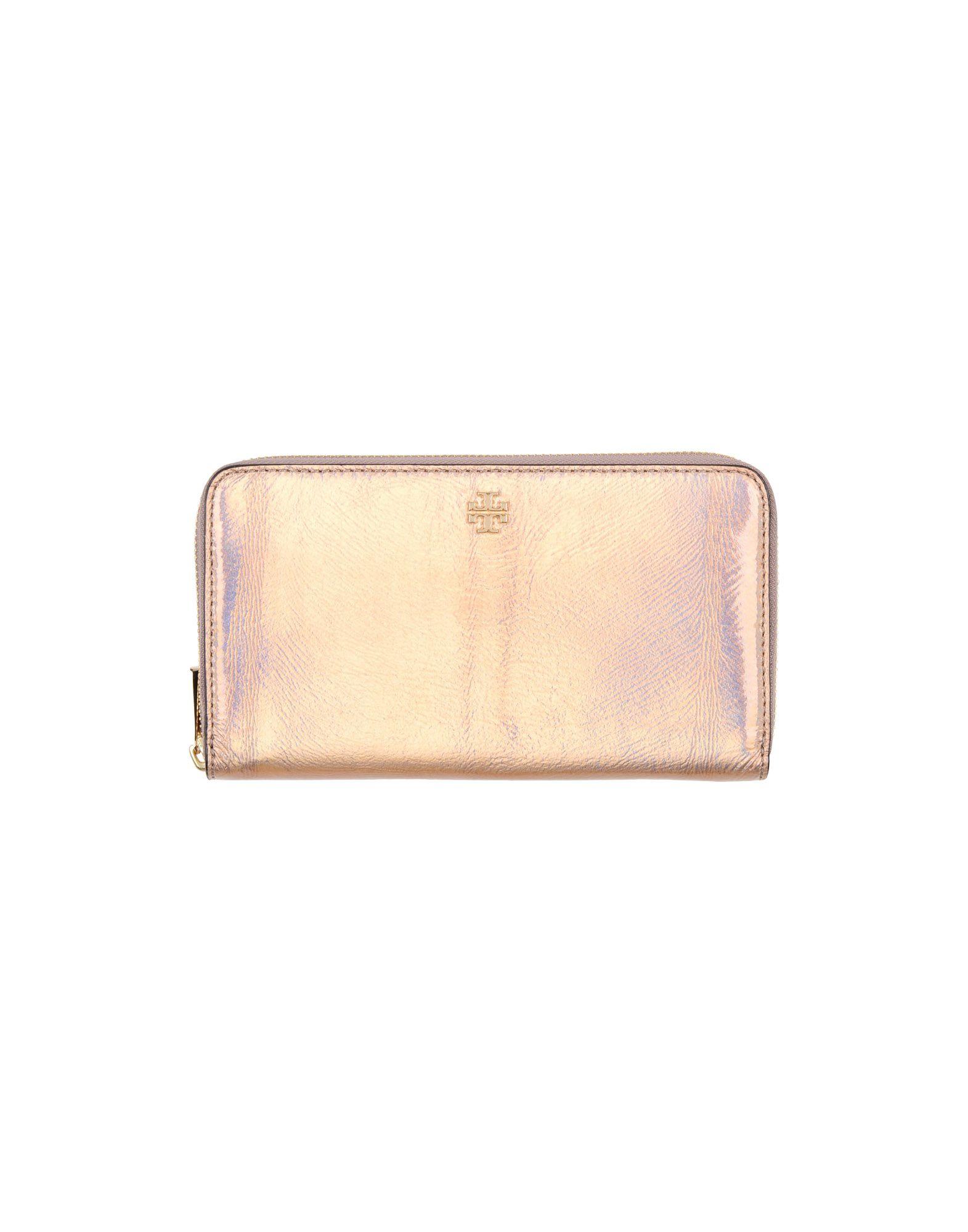 《送料無料》TORY BURCH レディース 財布 ピンク 革