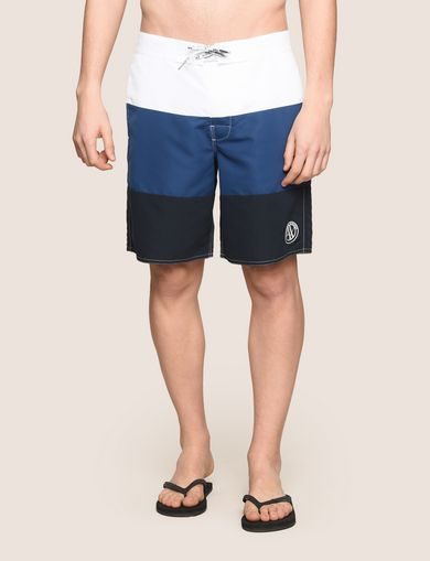 COLORBLOCK CIRCLE LOGO SWIM SHORT
