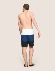 ARMANI EXCHANGE COLORBLOCK CIRCLE LOGO SWIM SHORT Swim Man e