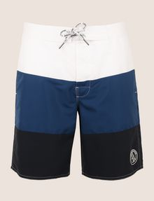 ARMANI EXCHANGE COLORBLOCK CIRCLE LOGO SWIM SHORT Swim Man r