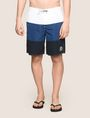 ARMANI EXCHANGE COLORBLOCK CIRCLE LOGO SWIM SHORT Swim Man f