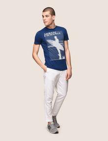 ARMANI EXCHANGE TAILORED LINEN BLEND PANTS Dress Pant Man d