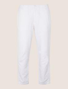 ARMANI EXCHANGE TAILORED LINEN BLEND PANTS Dress Pant Man r