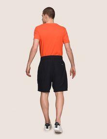 ARMANI EXCHANGE ELASTIC WAIST LINEN BLEND SHORT Shorts Man e