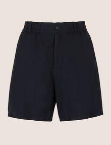 ARMANI EXCHANGE ELASTIC WAIST LINEN BLEND SHORT Shorts Man r