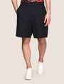 ARMANI EXCHANGE ELASTIC WAIST LINEN BLEND SHORT Shorts Man f