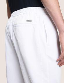ARMANI EXCHANGE ELASTIC WAIST COTTON JOGGER Fleece Pant Man b