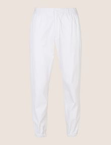 ARMANI EXCHANGE ELASTIC WAIST COTTON JOGGER Fleece Pant Man r