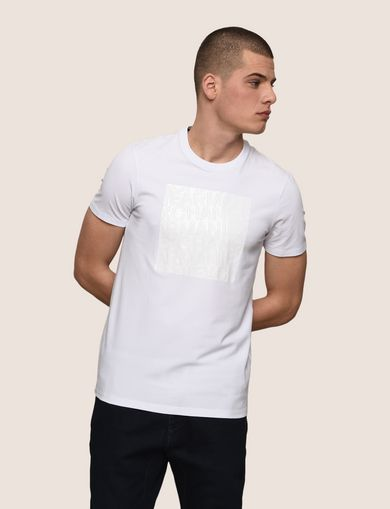 TONAL DEBOSSED OUTLINE TEE