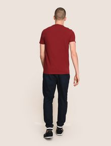 ARMANI EXCHANGE TONAL DEBOSSED OUTLINE TEE Logo T-shirt Man e