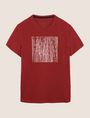 ARMANI EXCHANGE TONAL DEBOSSED OUTLINE TEE Logo T-shirt Man r
