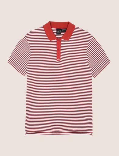 ARMANI EXCHANGE ショートスリーブポロシャツ メンズ R