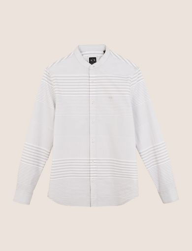 VARIEGATED STRIPE REGULAR-FIT SHIRT