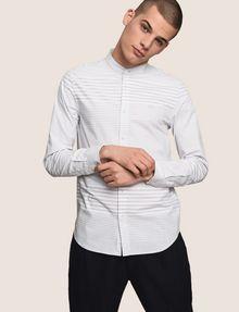 ARMANI EXCHANGE VARIEGATED STRIPE REGULAR-FIT SHIRT Long sleeve shirt Man a